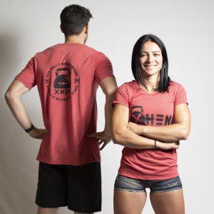 camiseta crossfitera kettlebell