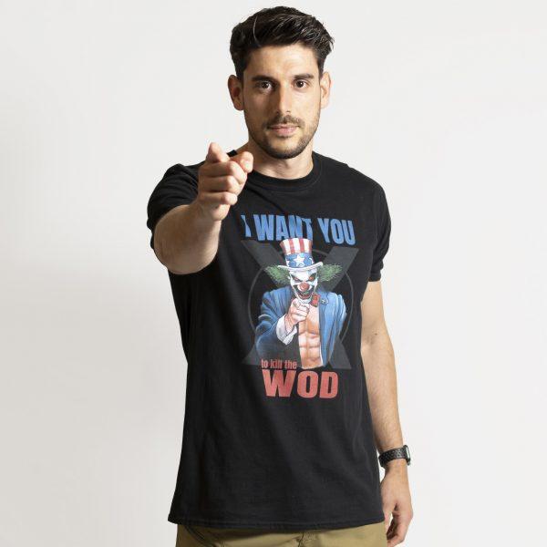 Camiseta Crossfit Pukie Uncle Sam